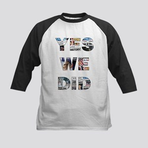 Yes We Did/Votes for Change Kids Baseball Jersey
