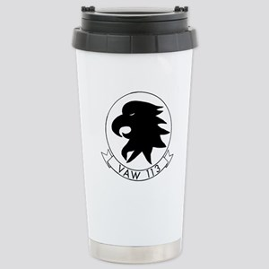 VAW 113 Black Eagles Stainless Steel Travel Mug