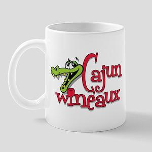 Cajun Wineaux gator Mug