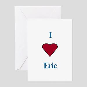 Heart Eric Greeting Card