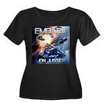 EMBARK COVER LOGO Plus Size T-Shirt