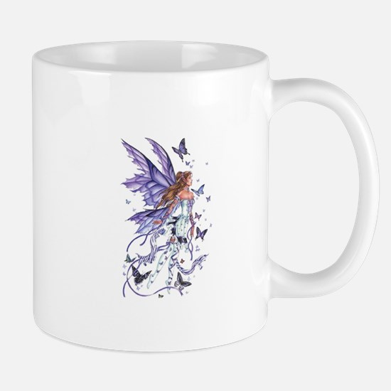 Purple Butterfly Fairy Mug