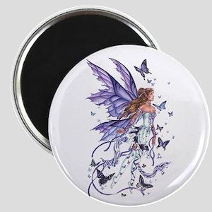 Purple Butterfly Fairy Magnet