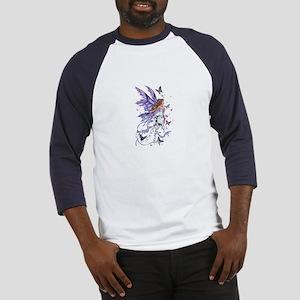 Purple Butterfly Fairy Baseball Jersey