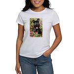 Black Miniature Schnauzer Women's T-Shirt