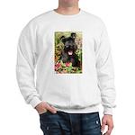 Black Miniature Schnauzer Sweatshirt