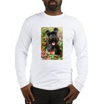 Black Miniature Schnauzer Long Sleeve T-Shirt
