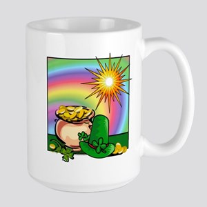 "Large Mug: ""Leprechaun Leftovers"""