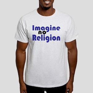 Imagine no Religion Light T-Shirt