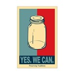 Yes We Can Mini Poster Print
