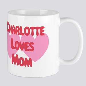 Charlotte Loves Mom Mug