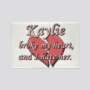 Kaylie broke my heart and I hate her Rectangle Mag