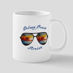 Florida - Delray Beach Mugs