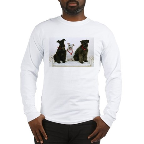 Black Miniature Schnauzer Long Sleeve T-Shirt