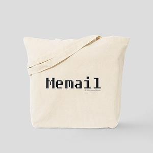 Memail Bigger Text Tote Bag