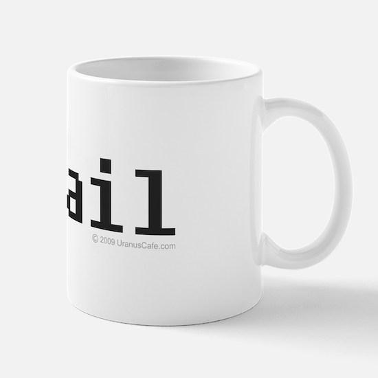 Memail Bigger Text Mug