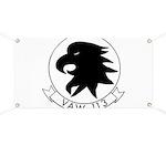 VAW 113 Black Eagles Banner