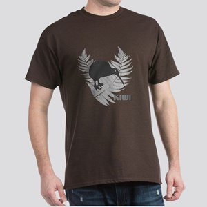 Silver Fern Kiwi Dark T-Shirt