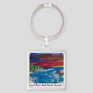 Carmel State Beach, Carmel CA 700 Keychains