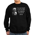 Mark Twain 13 Sweatshirt (dark)