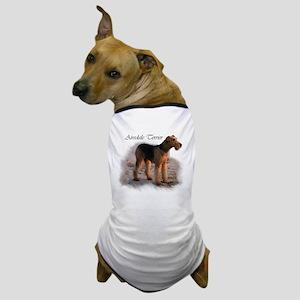 Airedale Terrier Art Dog T-Shirt