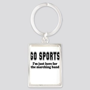 Go Sports Marching Band Keychains