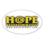 HFT Oval Title Sticker