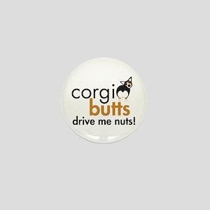 Corgi Butts Drive Me Nuts BHT Mini Button