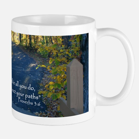 Proverbs 3:6 Seek His Will... Small Mug