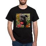 Black Miniature Schnauzer Dark T-Shirt