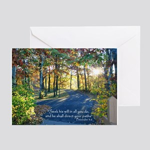 Seek his will... Greeting Cards (Pk of 10)