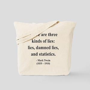 Mark Twain 18 Tote Bag
