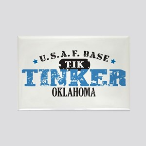 Tinker Air Force Base Rectangle Magnet
