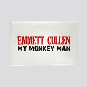 Emmett Cullen - Monkey Man Rectangle Magnet