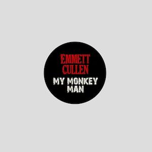 Emmett Cullen - Monkey Man Mini Button
