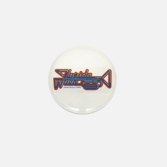 Cute Drum and bugle corps Mini Button