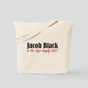 Jacob - Dogs Dangly Bits! Tote Bag