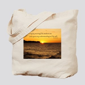 Morning by morning... Tote Bag