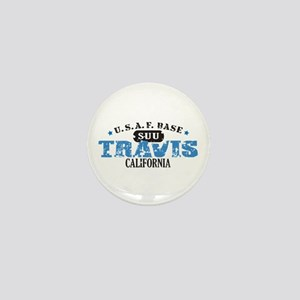 Travis Air Force Base Mini Button
