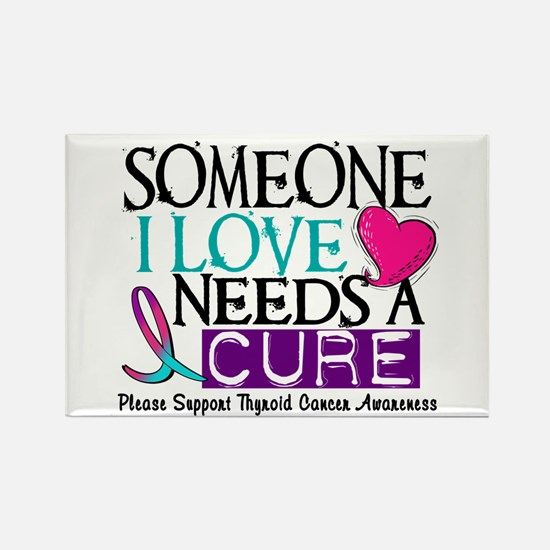 Needs A Cure THYROID DISEASE Rectangle Magnet