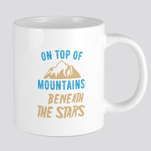 Mountains Shirt Top Mountains Beneath Stars G Mugs