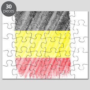 Belgian Flag Shirt Belgium Flag T shirt Wav Puzzle