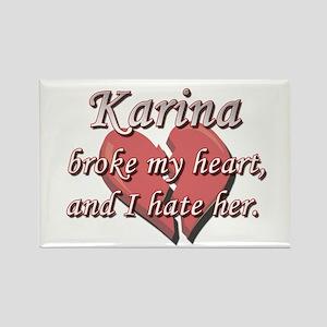 Karina broke my heart and I hate her Rectangle Mag