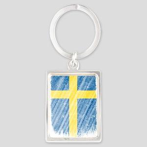 Swedish Flag Shirt Sweden Flag T shirt W Keychains