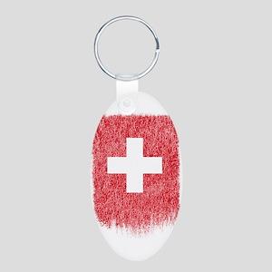 Swiss Flag Shirt Switzerland Flag T shir Keychains