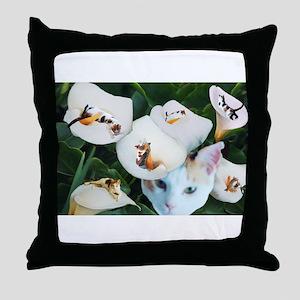 Cala in Callas Throw Pillow