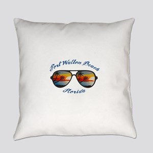 Florida - Fort Walton Beach Everyday Pillow