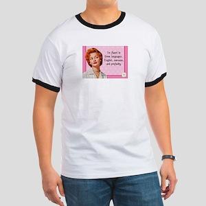 English Sarcasm Profanity T-Shirt