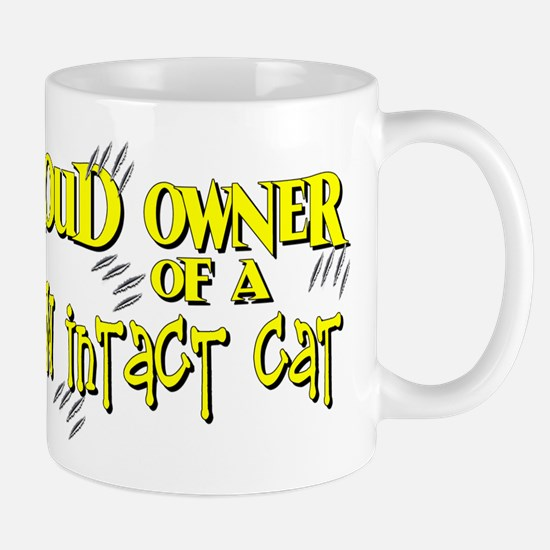 Proud Owner - Claw Intact Cat Mug