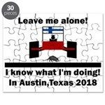 Leave me alone I know Texas Puzzle